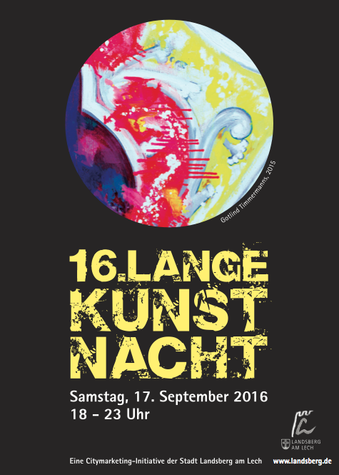 16. Kunstnacht in Landsberg am Lech.